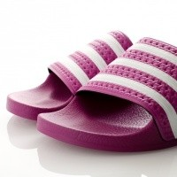 Afbeelding van Adidas ADILETTE W CG6539 Slipper vivid pink/vivid pink/ftwr white