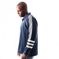 Afbeelding van Adidas AUTH RUGBY DH3843 Polo Longsleeve COLL. NAVY