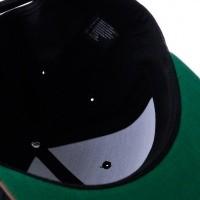 Afbeelding van Brixton WHEELER SNAPBACK 375 snapback cap BLACK/CAMO