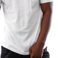 Afbeelding van Vans VA3HFM-WHT T-shirt Wn1 basic Wit