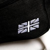Afbeelding van Go-Britain Compartment Gbb01 Fanny Pack (Heuptas) Black