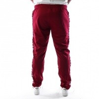 Afbeelding van Kappa Banda Astoria Slim 301EFS0 Trainingsbroek Red Bordeaux-Grey