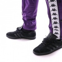 Afbeelding van Kappa Banda Astoria Snaps Slim 303KUE0 Trainingsbroek Violet-White Black