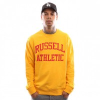 Russell Athletic Iconic Tackle Twill A9-003-1 Crewneck Gold Fusin