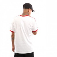 Afbeelding van Adidas 3-STRIPES TEE DY1533 T shirt white/power red
