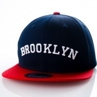 Afbeelding van Ethos Brooklyn KBN-500BN navy/red KBN-500BN dad cap navy/red