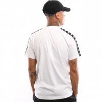 Afbeelding van Kappa 222 Banda Charlton 304KPR0-904 T shirt White-Black
