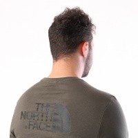 Afbeelding van The North Face M L/S EASY TEE T92TX121L Longsleeve NEW TAUPE GREEN