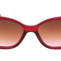 Icon Eyewear 571 E Zonnebril Clear Cardinal Red