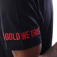 Afbeelding van In Gold We Trust Logo Tee FA-069 T Shirt Multi
