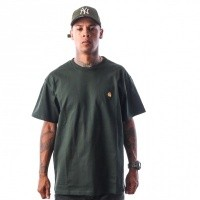 Carhartt WIP S/S Chase T-Shirt I021949 T-shirt Loden / Gold