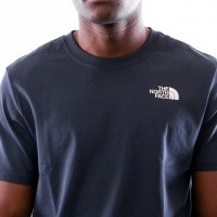 Afbeelding van The North Face M SS REDBOX CEL TEE T92ZXESFT T shirt TNF WHITE / URBAN NAVY