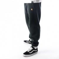 Afbeelding van Carhartt WIP Chase Sweat Pant I025731 Joggingbroek Loden / Gold