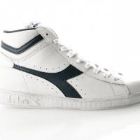 Afbeelding van Diadora Game L High Waxed 501159657 Sneakers 4White/Blue Caspian sea