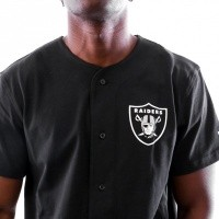 Afbeelding van New Era ESTABLISHED JERSEY OAKRAI BLK 11841051 jersey BLACK OAKLAND RAIDERS