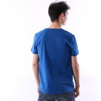Afbeelding van Kappa 303LRZO-187 T-shirt Authentic Estessi Blue/black