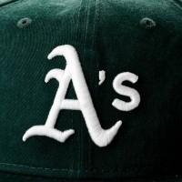 Afbeelding van New Era WASHED TEAM 9FIFTY OAKLAND ATHLETICS 80636091 Snapback cap OFFICAL TEAM COLOUR MLB
