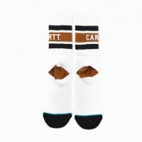 Afbeelding van Carhartt Wip X Stance Strike Socks Io27799 Sokken White / Black / Hamilton Brown