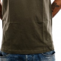 Afbeelding van The North Face M S/S Red Box Tee T92TX2 T shirt New Taupe Green/Kelp Tan