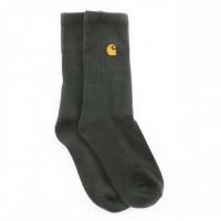 Afbeelding van Carhartt WIP Chase Socks I026527 Sokken Loden / Gold