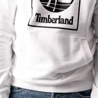 Afbeelding van Timberland SLS Seasonal Logo hoodie sweat TB0A1N9B1001 Hooded White