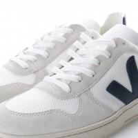Afbeelding van Veja VX011380 Sneakers V-10 mesh Wit