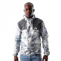 Afbeelding van The North Face M 1985 MOUNTAIN JKT T0CH375XQ Jas TNF WHITE MACROFLECK PRNT