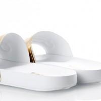 Afbeelding van Diadora 101.173.879-96003 Slide sandal Serifos 90 Goud
