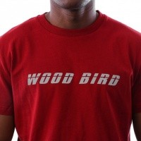 Afbeelding van Wood Bird Runners Tee 1836-400 t-shirt Red Pepper