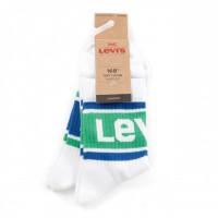 Levi'S Bodywear Short Cut Shorty Sporty 993019001 Sokken White Combo
