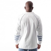 Afbeelding van Adidas AUTH RUGBY DH3844 Polo Longsleeve WHITE