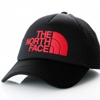 Afbeelding van The North Face TNF Logo Trucker T93FM3KX9 Trucker TNF Black / TNF Red