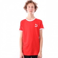 Puma Iconic T7 Tee 577979 T shirt High Risk Red
