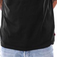Afbeelding van Levi`s Oversized Graphic Tee 69978-0007 T shirt Stripe Mineral Black