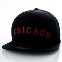 Afbeelding van Ethos Chicago KBN-500CH black/black/red KBN-500CH dad cap black/black/red