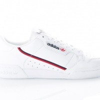 Afbeelding van Adidas Continental 80 B41674 Sneakers FTWR WHITE/SCARLET/COLLEGIATE NAVY