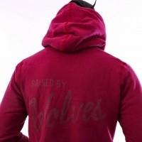 Afbeelding van Raised by Wolves Vintage Varsity Hooded Sweatshirt RBWFW18401 Hooded Harvard Fleece