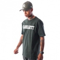 Afbeelding van Carhartt WIP S/S College T-Shirt I024772 T-shirt Loden / White