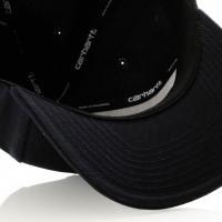 Afbeelding van Carhartt WIP Logo Cap I023099 Snapback cap Dark Navy