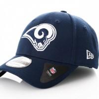 Afbeelding van New Era Nfl The League Los Angeles Rams 11344501 Dad Cap Official Team Colour Nfl