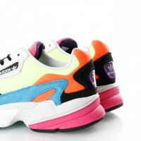 Afbeelding van Adidas Falcon W Cg6210 Sneakers Hi-Res Yellow/Hi-Res Yellow/Core Black