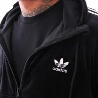 Afbeelding van Adidas 3-STRIPES FZ DV1551 Hooded zip black
