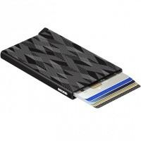 Afbeelding van Secrid Cardprotector Laser CLA Portemonnee Zigzag Black