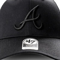 Afbeelding van 47 Brand B-BRANS01CTP-BK BLACK MLB atlanta braves