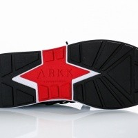 Afbeelding van Arkk Raven Mesh S-E15 Black White-M IL1400-0099-M Sneakers Black