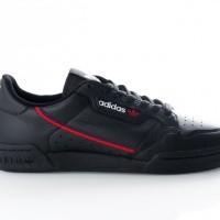 Afbeelding van Adidas Continental 80 B41672 Sneakers CORE BLACK/SCARLET/COLLEGIATE NAVY