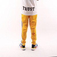 Afbeelding van In Gold We Trust Logo Trackpant FAP-031 Trainingsbroek Yellow