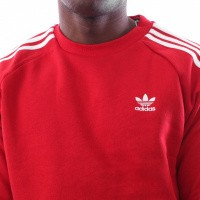 Afbeelding van Adidas 3-STRIPES CREW DV1553 Crewneck power red