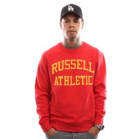Russell Athletic Iconic Tackle Twill A9-003-1 Crewneck True Red