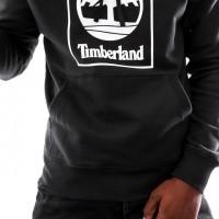 Afbeelding van Timberland SLS Seasonal Logo hoodie sweat TB0A1N9B0011 Hooded Black